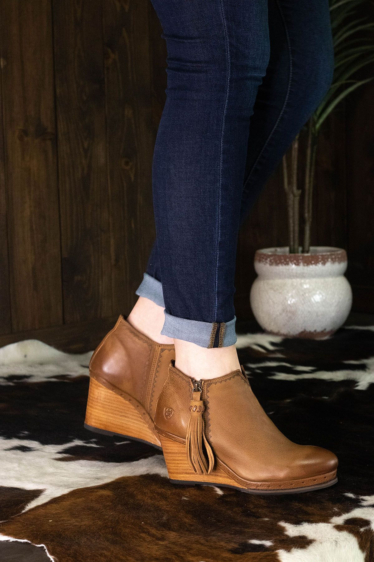 f19b25f56a3 Ariat Graceland Western Boot in Oxford Tan in 2019 | Boutique.Style ...