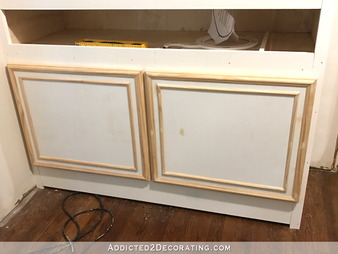 Simple Diy Cabinet Doors Make Cabinet Doors With Basic Tools Diy