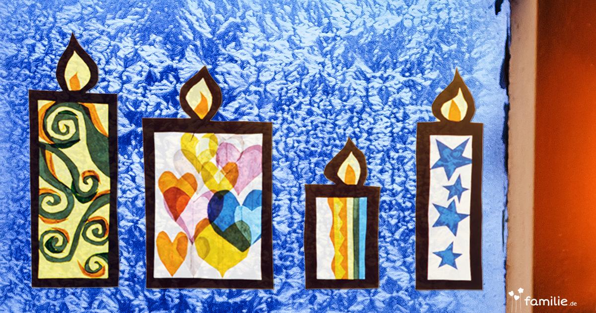 Fensterbild für den Advent | familie.de