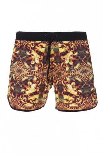Supremacy Venom Swim Shorts Black - Menswear trends for SS14: #Print is still big