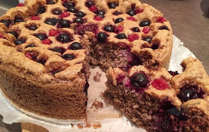 Fitness cake WITHOUT FLOUR AND WITHOUT SUGAR | Top-Rezepte.de#cake #fitness #flour #sugar #toprezept...
