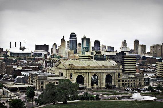 Kansas City Skyline by kathyhansen38 on Etsy, $20.00