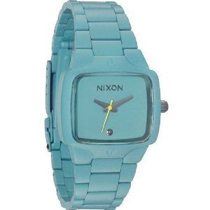love this casual Nixon watch for the Summer...
