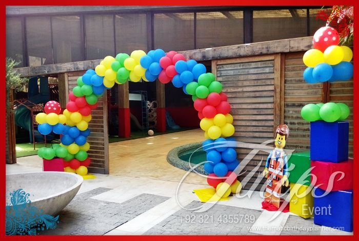 Lego Emmet Themed Birthday Party Planner in Lahore Pakistan Party