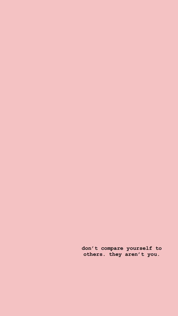 Self Love Quote Aesthetic Pastel Wallpaper Iphone