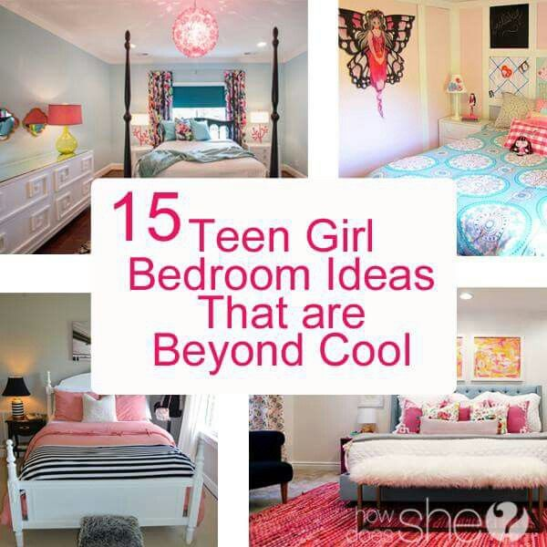 Inspiring Bedrooms for Girls | Bedrooms, DIY tutorial and Wall hangings