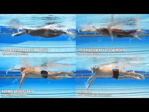 Freestyle Swimming Body Position Comparison Blueseventy