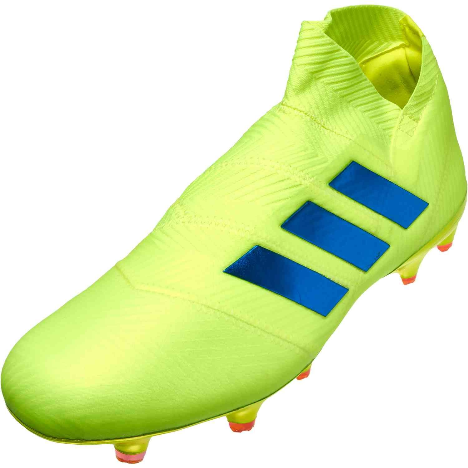 fc1ae57f4e Shop for the adidas Nemeziz 18+ from the Exhibit pack. It's at soccerpro.com
