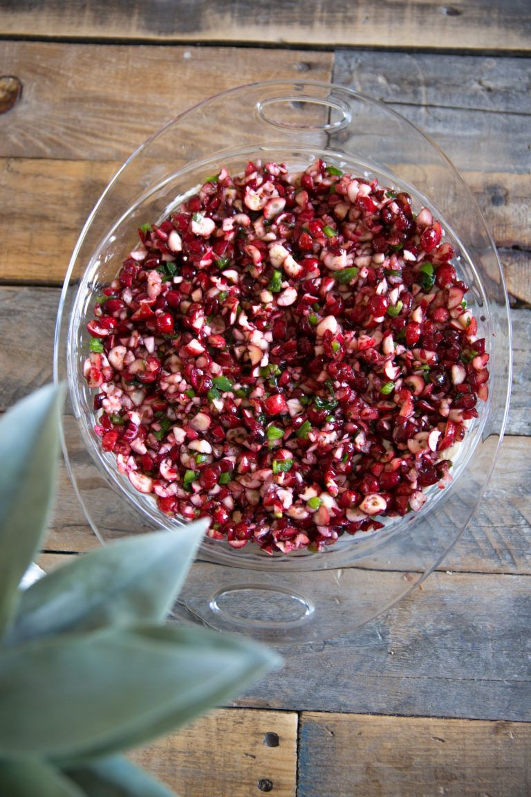 Healthy Christmas Appetizers Pinterest Holiday Cranberry Jalapeño Dip