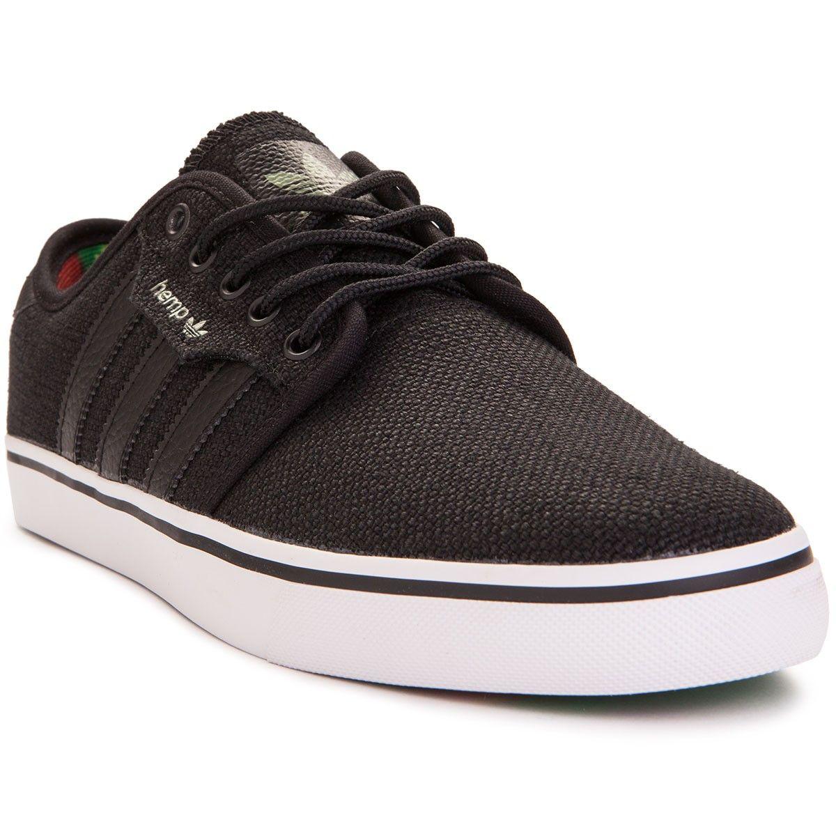 Adidas Seeley Hemp Shoes | Shoes, Black