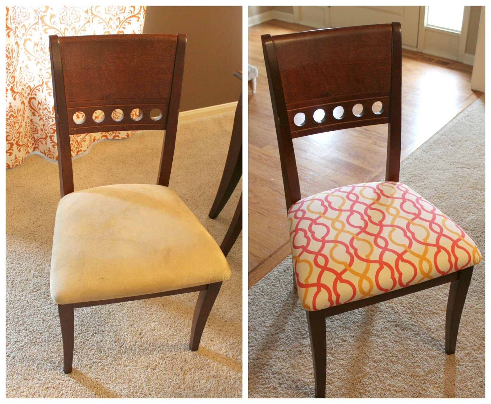 How To Reupholster A Dining Room Chairyour Self   Dining Classy Reupholstered Dining Room Chairs Design Inspiration