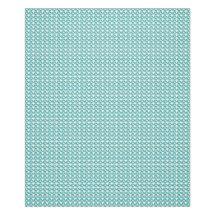 Stylish Gems-Blue-Gems_Designer-Fabric_Med Fleece Blanket