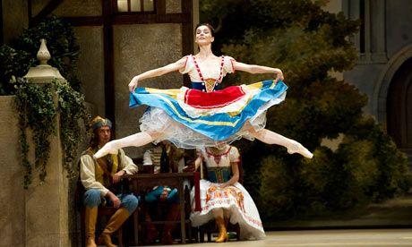 Natalia Osipova. Bolshoi ballet. Coppelia.