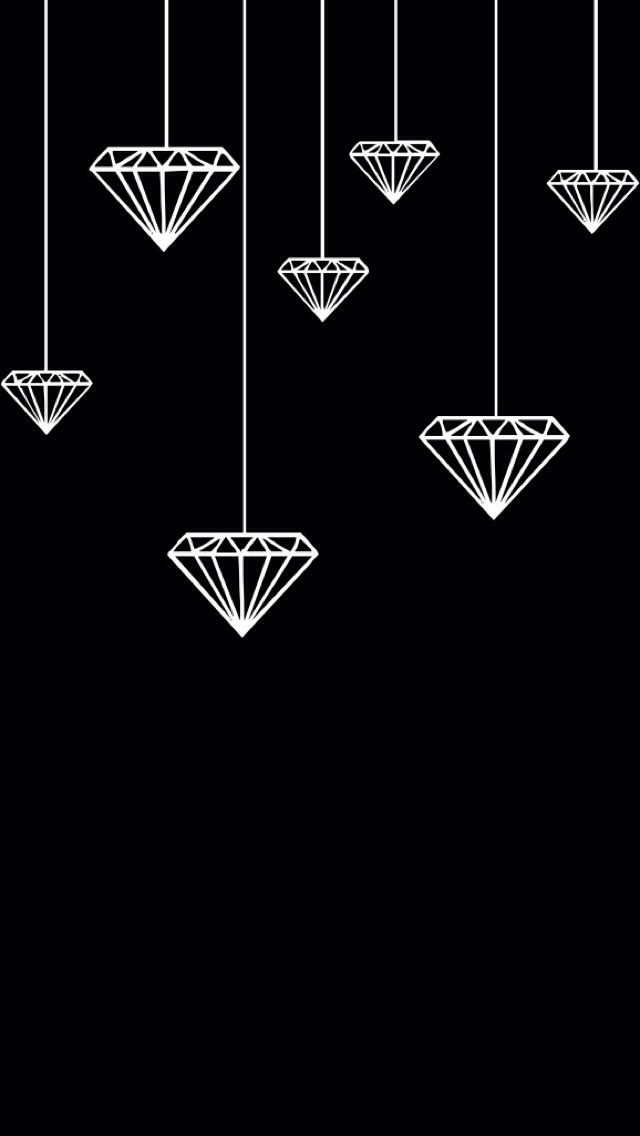 Hanging Diamonds New Wallpaper Iphone Diamond Wallpaper Iphone Iphone Wallpaper