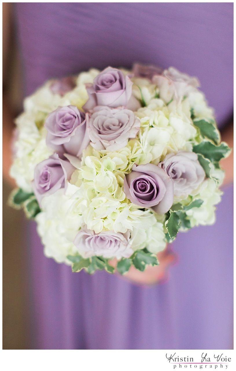 Lavish Lavender Cream Colored Wedding Bouquet Purpleroses