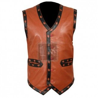 Warrior Leather Vest