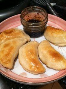 GF Turkey Pan Fried Dumplings