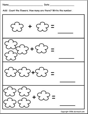 Remarkable math worksheets for pre k info