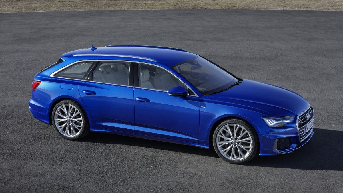 Audi Reveals The 2019 A6 Avant Audi Rs6 Audi A6 Avant Audi