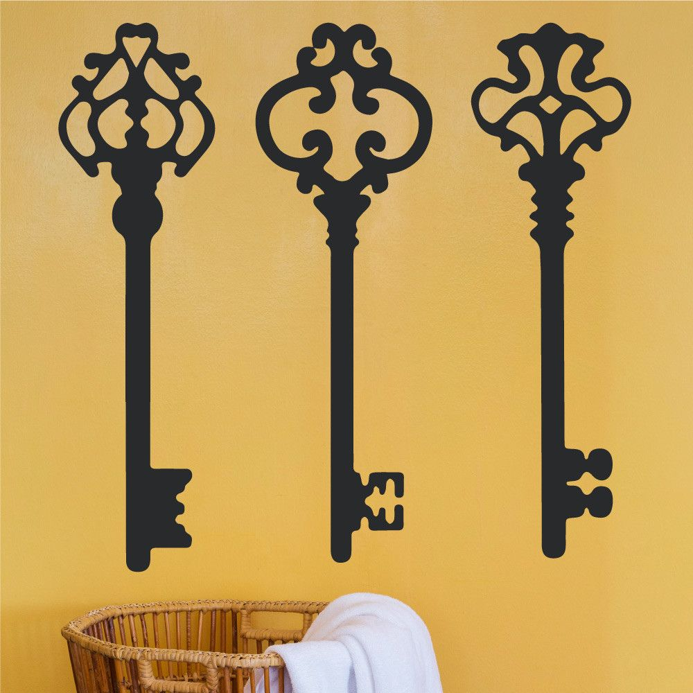 Luxury Vintage Key Wall Decor Embellishment - The Wall Art ...