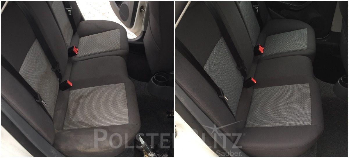 Autositz Gereinigt Von Polsterblitz Polsterreinigung Pinterest