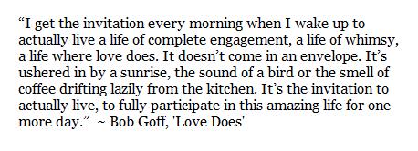 Bob Goff, 'Love Does'