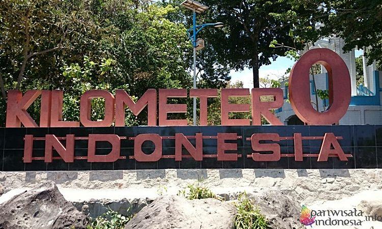 Tugu Lintang Batas  Km Indonesia Wisata Sabang Yang Seru Dan Unik
