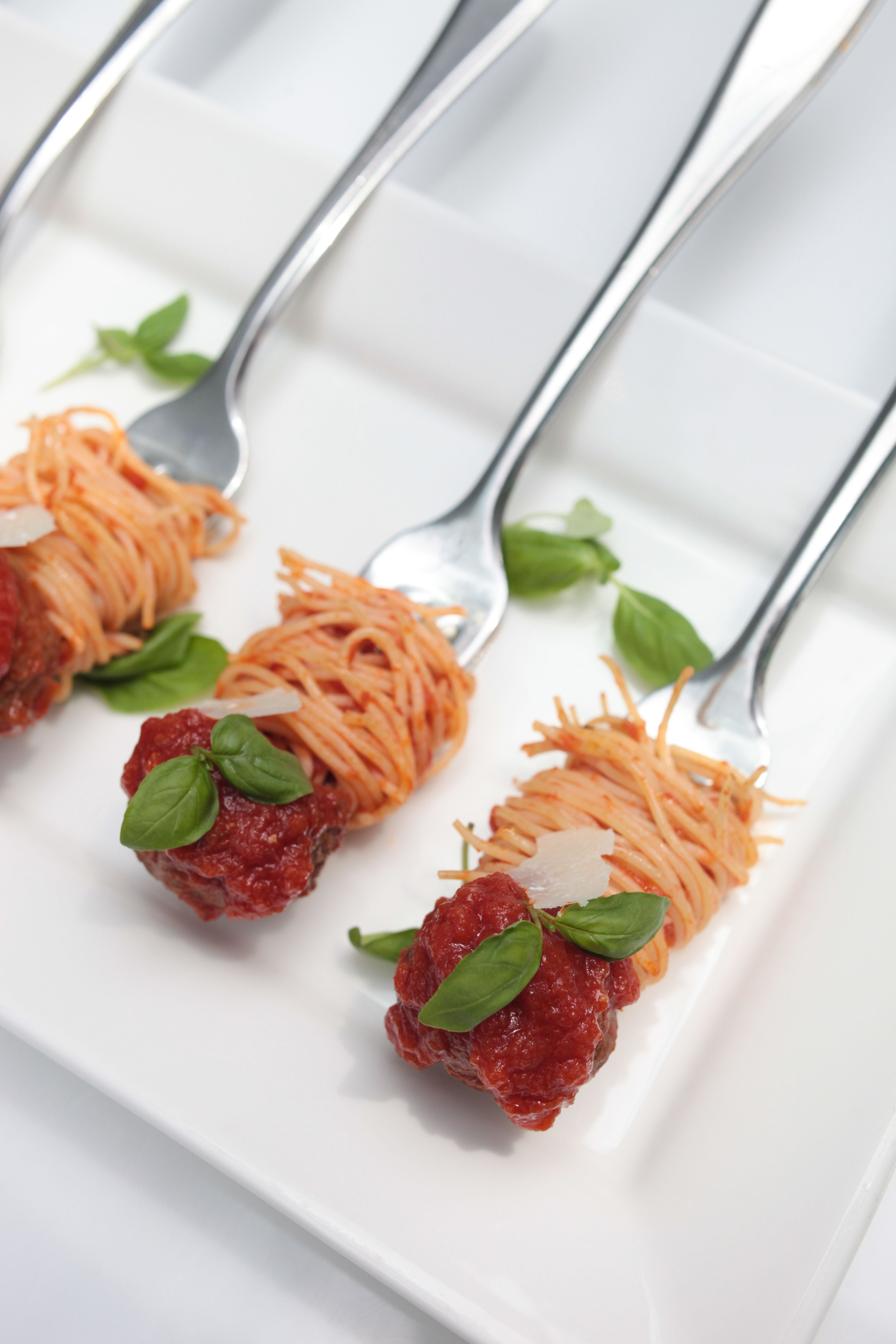 Spaghetti and meatball appetizers food pinterest toronto