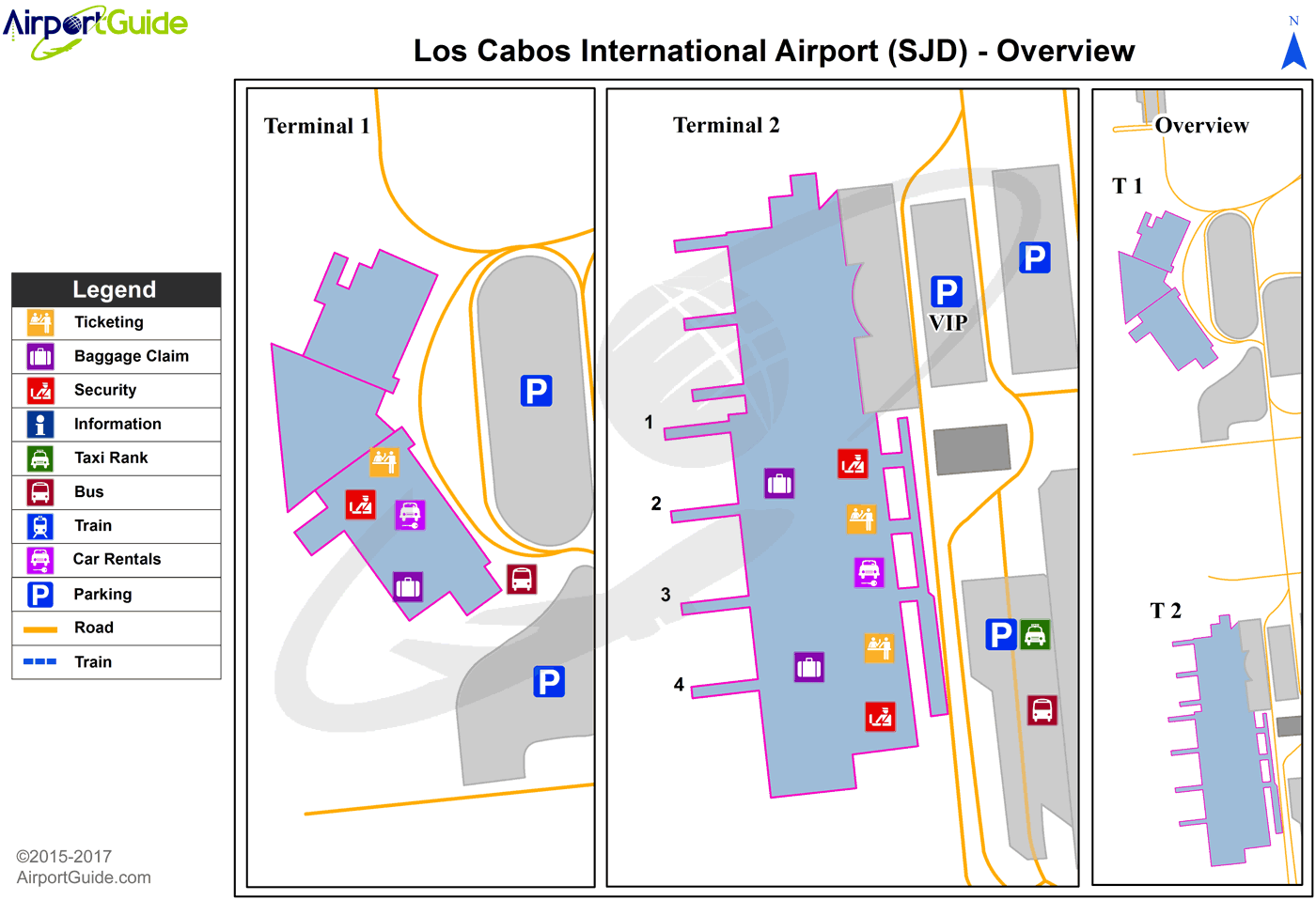 Sjd Airport Map San José del Cabo   Los Cabos International (SJD) Airport Terminal