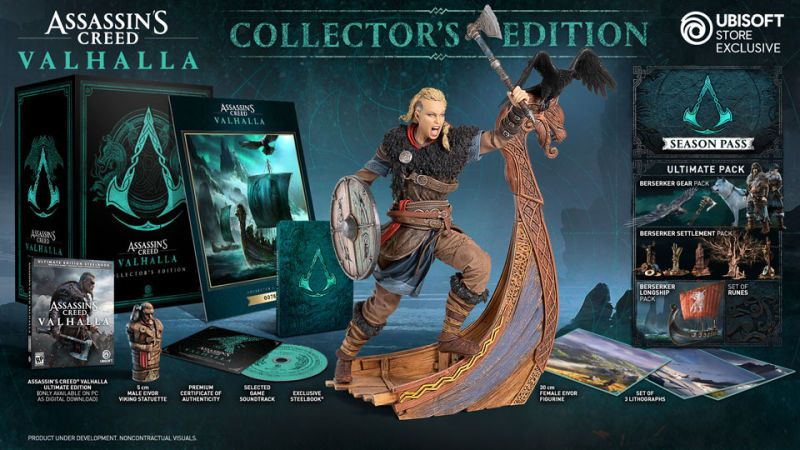 Assassin S Creed Valhalla Coming To Old And New Gen Consoles Features Choice Of Male Or Female Protagonist Assassins Creed Assassins Creed Game Assassin