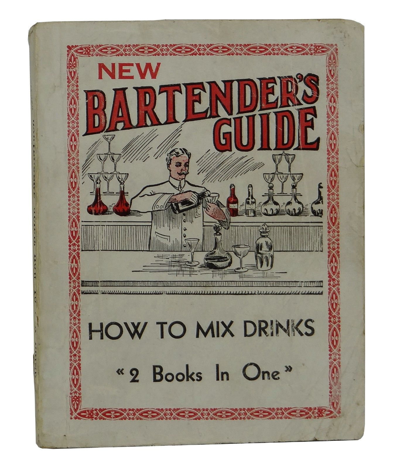 New Bartender's Guide How to Mix Drinks Ottennheimer Antique Cocktail 1914
