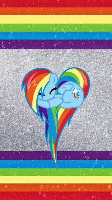 Nikkibsdesignz Rainbow Dash Walls With Images My Little