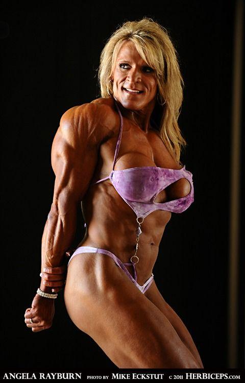 Mature bodybuilder looks sharp editorial photography