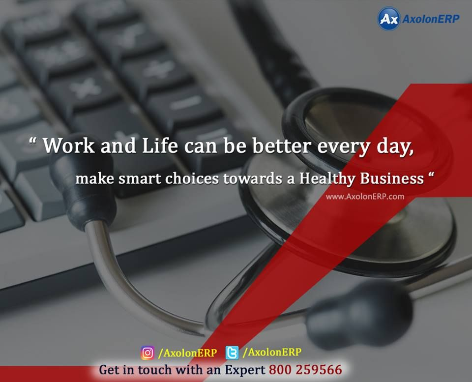 An ERP health check of your system is necessary as it will