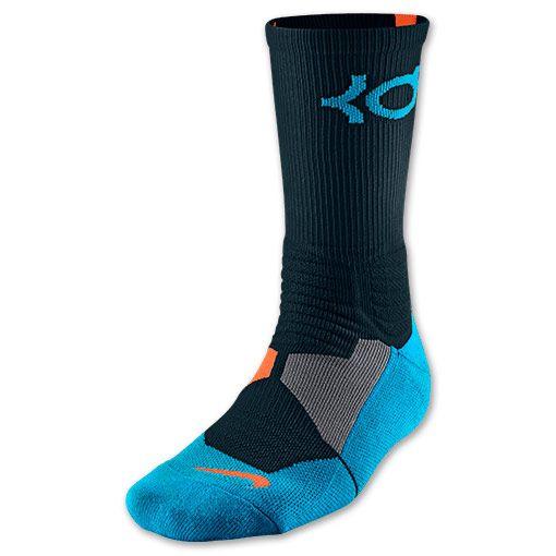 12c29300bc61 Men s Nike KD Hyper Elite Basketball Crew Socks - SX4814 048 ...
