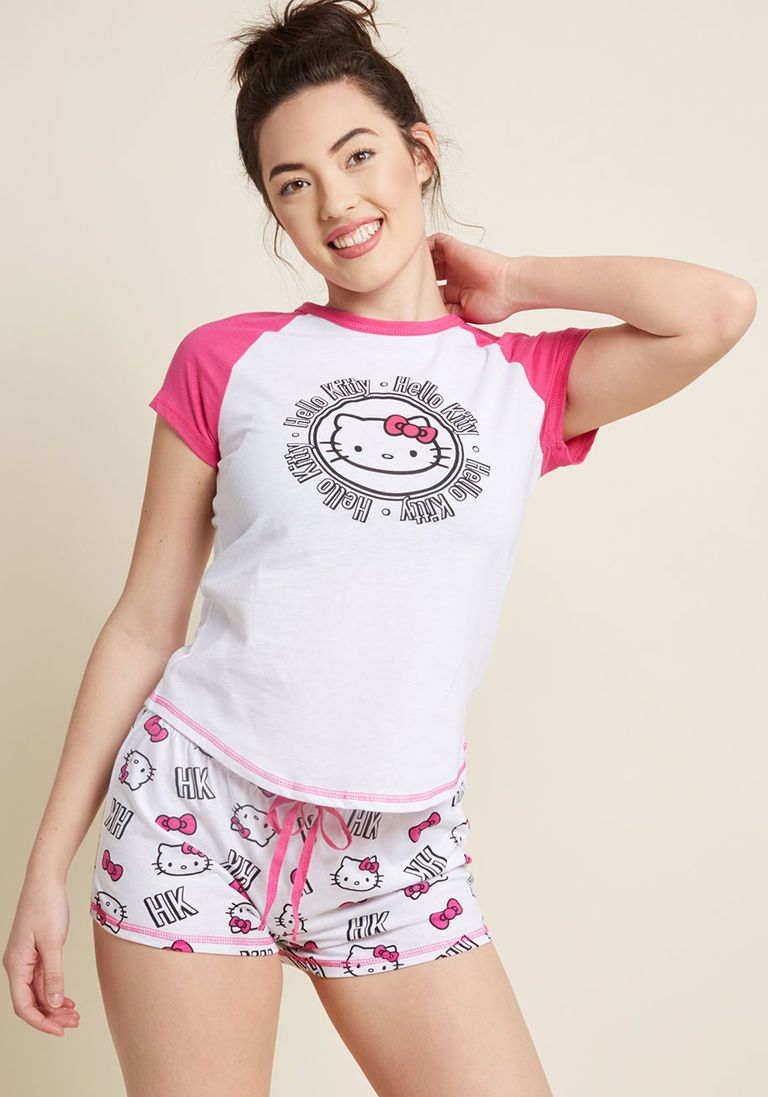 e35dcfc3d Lovely Lounger Hello Kitty Pajamas | Products | Pajamas, Hello kitty ...