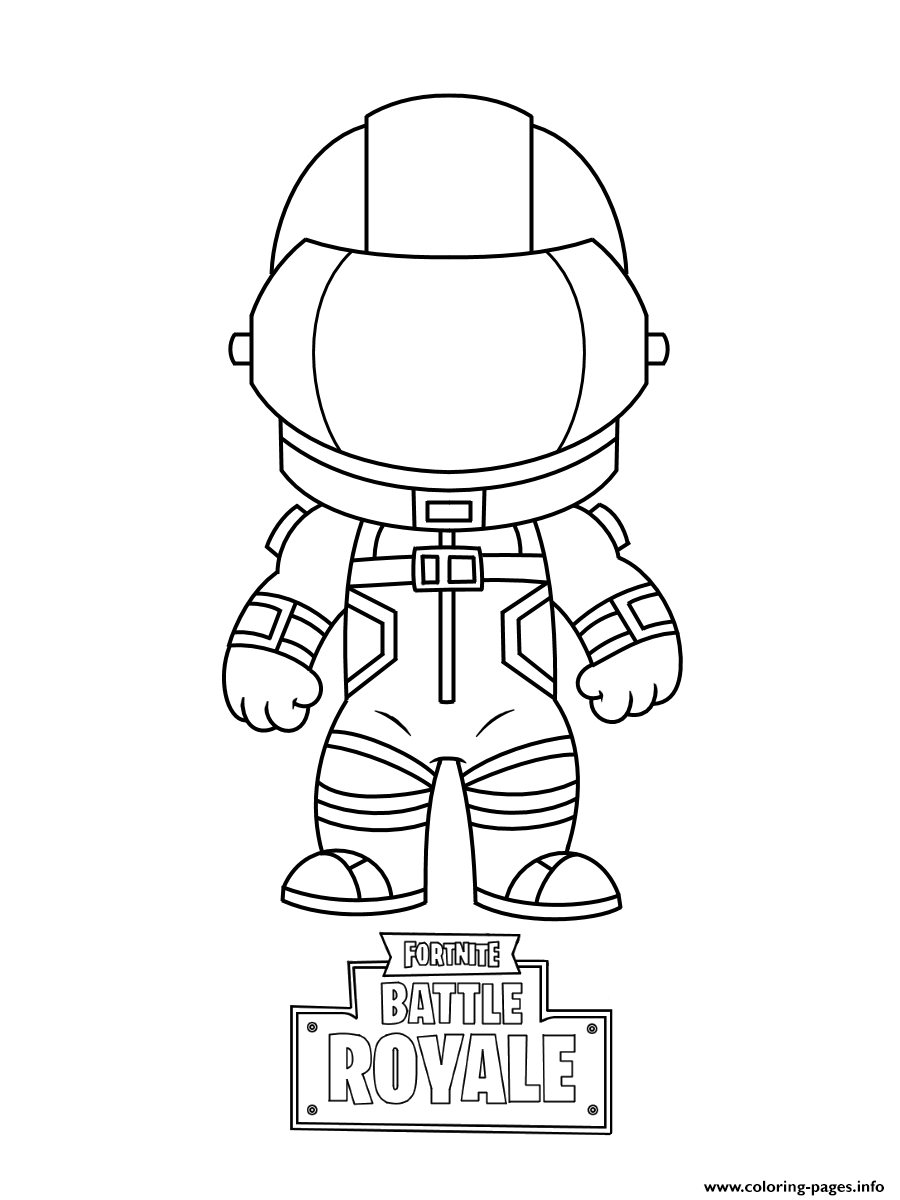 Print Mini Fortnite Dark Vanguard Coloring Pages