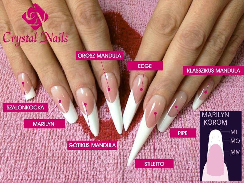 Crystal Nails Hungary | Nails | Pinterest | Crystal nails, Exotic ...