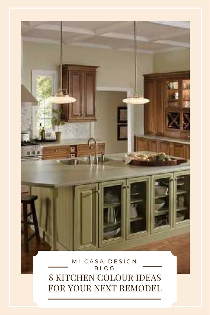 8 kitchen colour ideas for your next remodel.