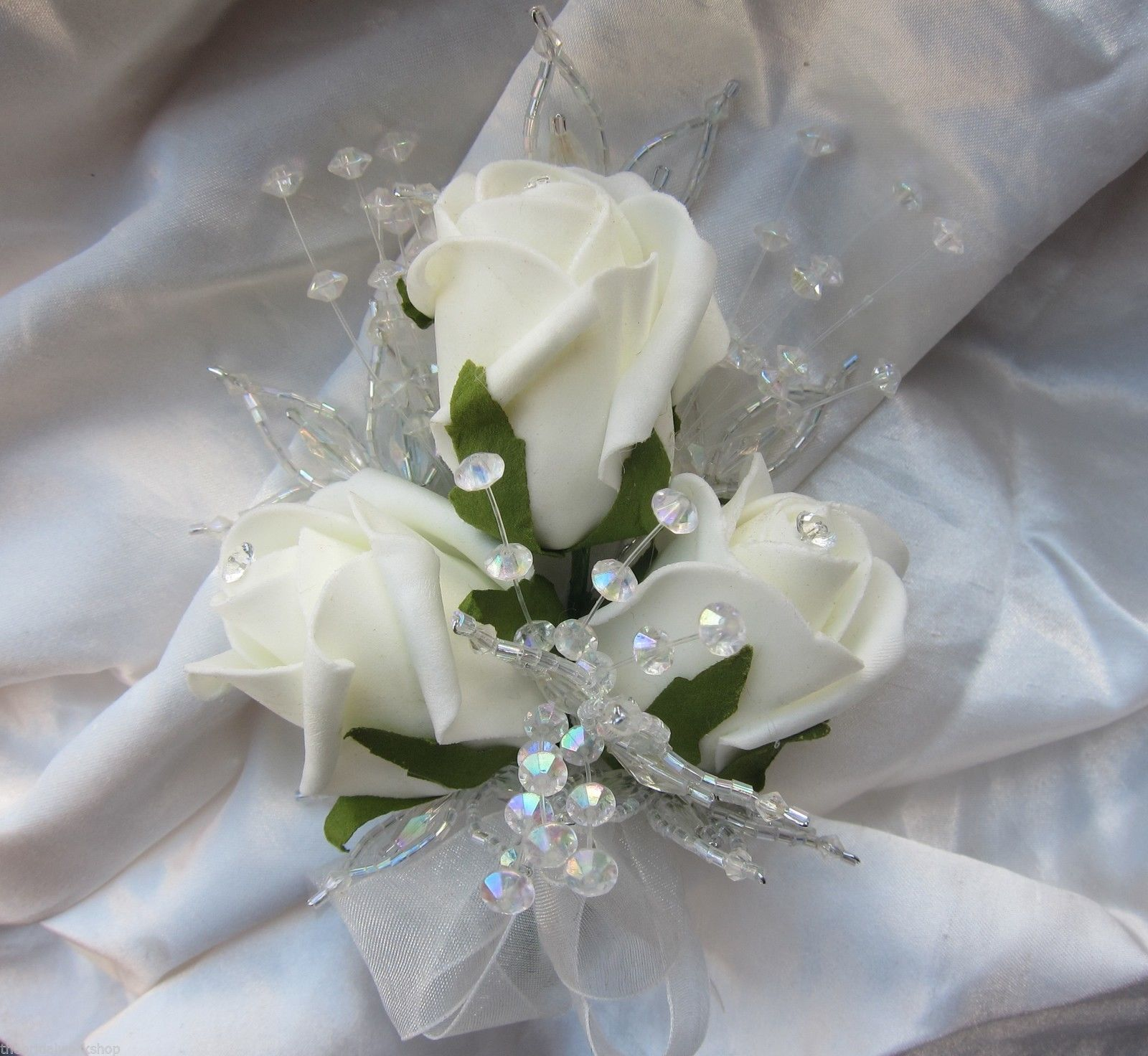 Details About 4 Ladies Wedding Flowers Prom Mother Of