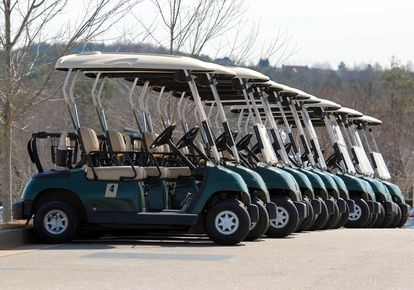 How to Paint a Golf Cart | eHow | Our new home away from home ... Golf Course Transport Cart Bluetooth Remote on