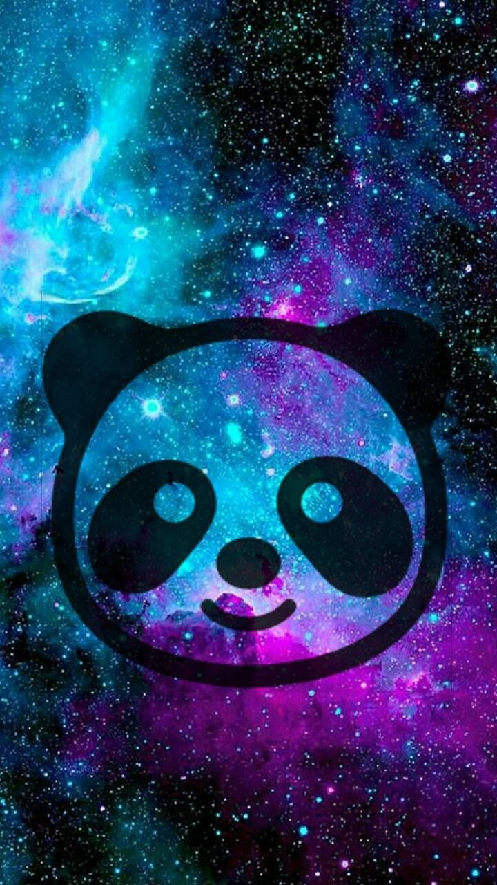 Galaxy Panda Wallpaper By KittyH742