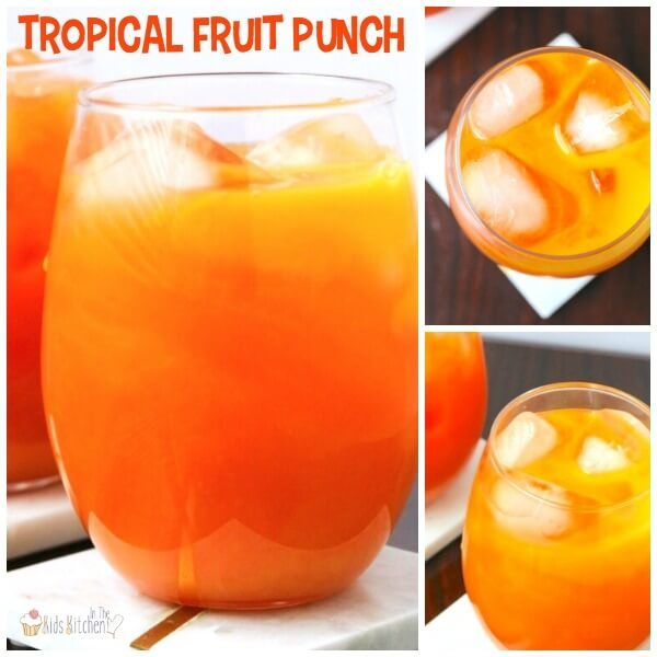 3-Ingredient Tropical Fruit Punch