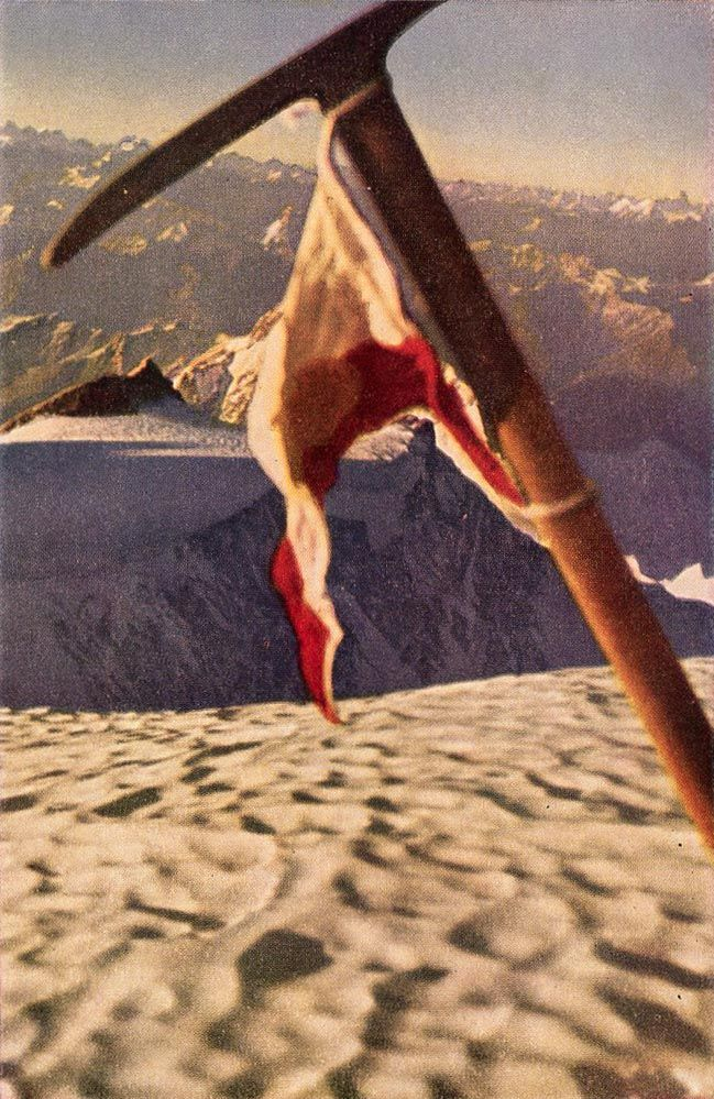 Nanga Parbat First Ascent 1953 - Hermann Buhl Ice Axe -9388