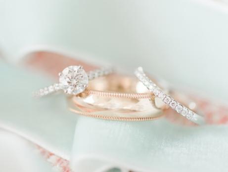 I love love love this ring set!