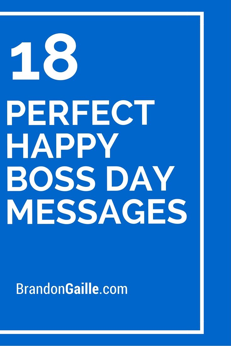 18 perfect happy boss day messages happy boss messages and cards 18 perfect happy boss day messages m4hsunfo