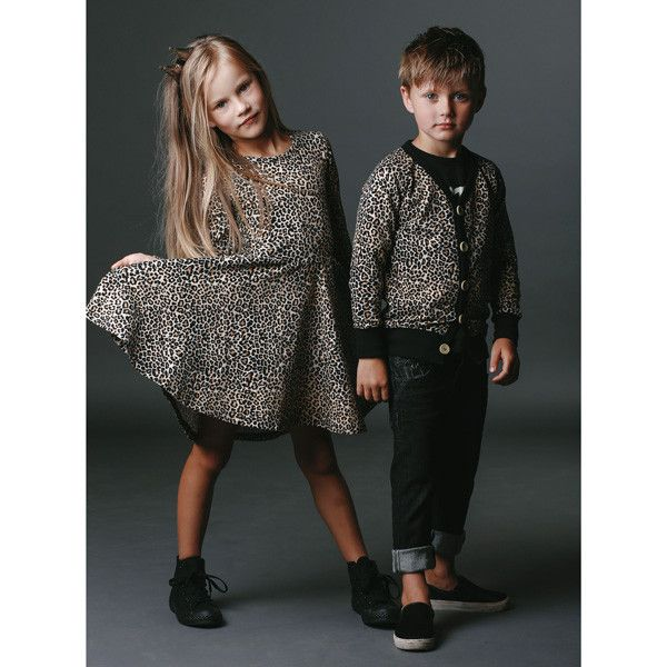 Rock Your Baby Leopard Dress and Cardigan | Rock Your Baby Winter ...