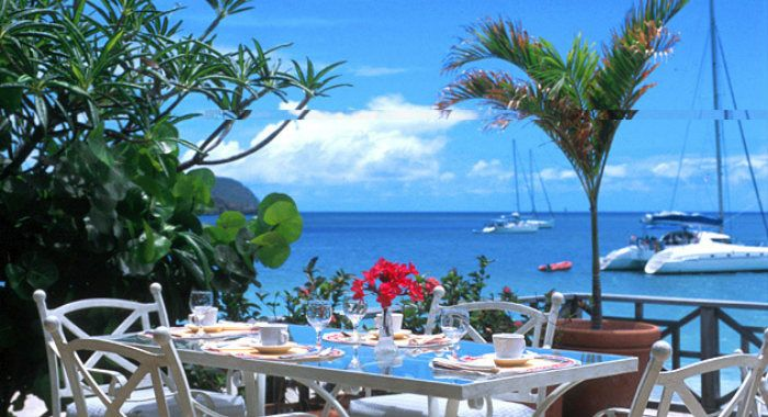 Dining With Caribbean Views