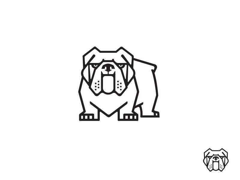 Bulldog 2 Drib Bulldog Drawing Bulldog Art Bulldog Tattoo