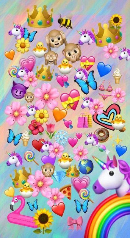 32+ Ideas for wall paper tumblr emoji unicorn #wall